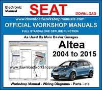 Seat Altea Service Repair Workshop Manual Download